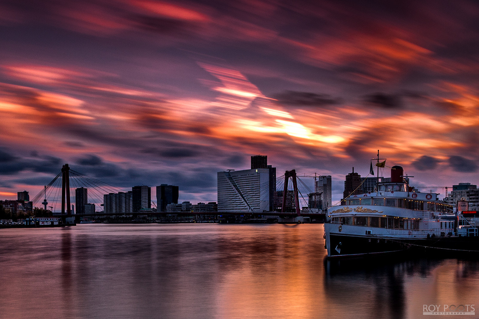 Photograph Rotterdam sunset by Roy Zz on 500px