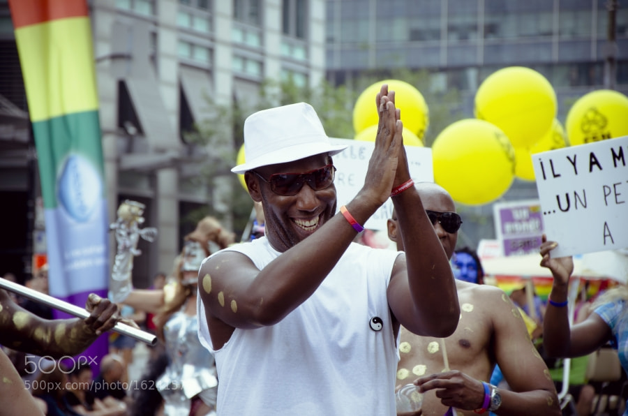 Photograph PRIDE PARADE — MONTREAL 2011 by Nydia Lilian on 500px