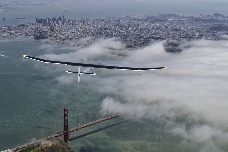Golden Gate Flight by Solar Impulse 1 by SOLAR IMPULSE on 500px.com