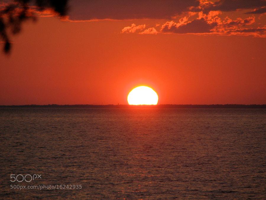 Sunset Sturgeon Bay, WI
