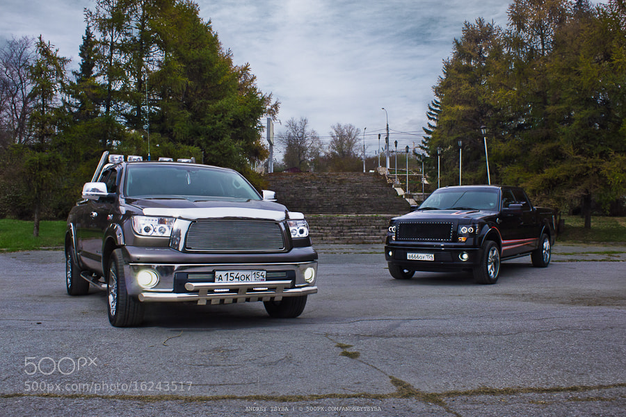 Photograph Tundra and F150 by Andrey Tsyba on 500px