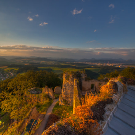 Sunset from Castle
