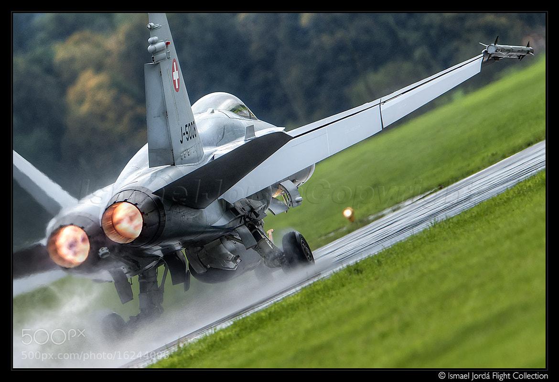 Photograph F-18 (2012) by Ismael Jordá on 500px