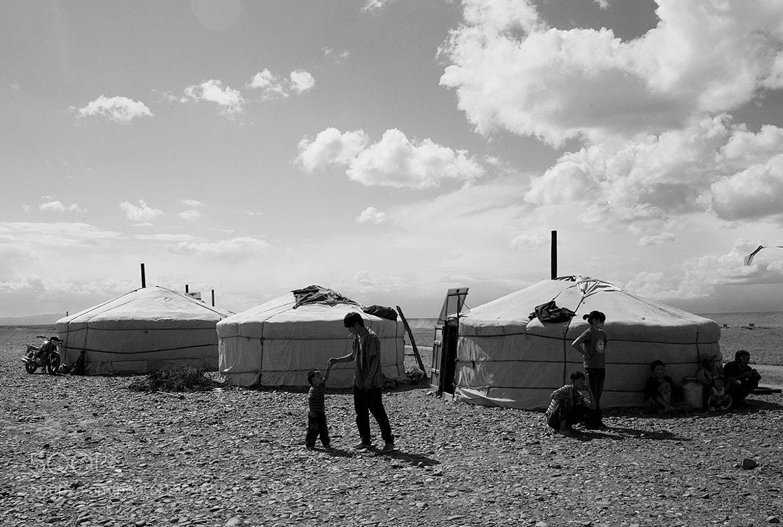 Photograph Mongolian Yurts by Harrison Cronbi on 500px