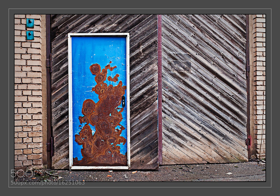 Photograph rusty blue by Juergen B. Mueller on 500px