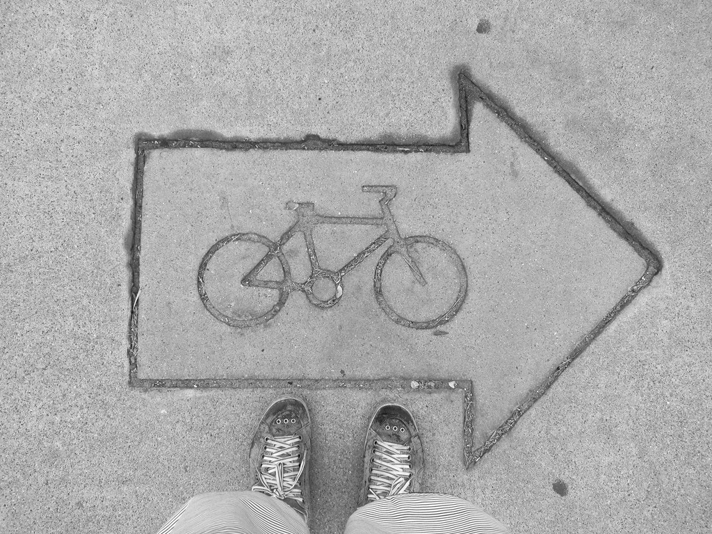 Photograph Bikes that way. by Bruno Dias on 500px