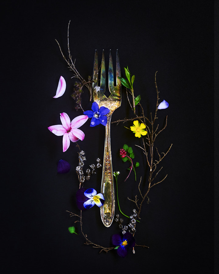 Antique Floral Fork by Nicole Aubrey on 500px.com