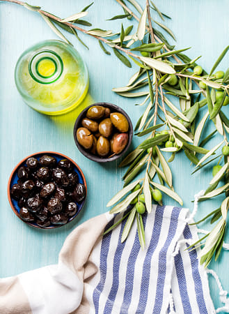 Mediterranean olives and oil by Heather Balmain on 500px