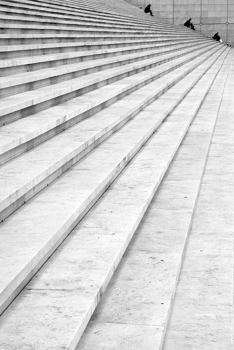 Photograph Lines leading to people by Yann Thoyer on 500px
