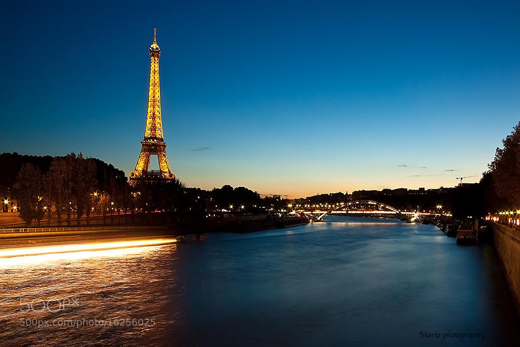 Photograph Paris at night by Mariusz Pisarkiewicz on 500px