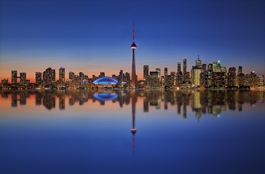 Toronto Skyline by Johan Morin on 500px.com