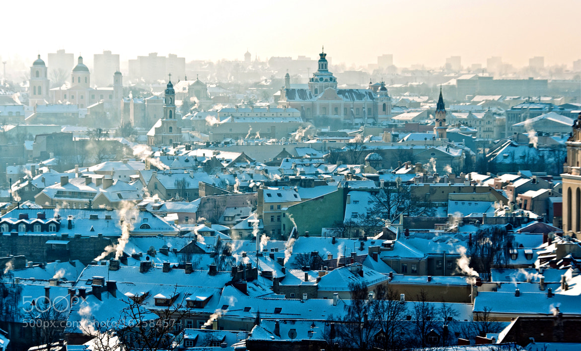 Photograph Morning Vilnius by Dzianis Kadyrko on 500px