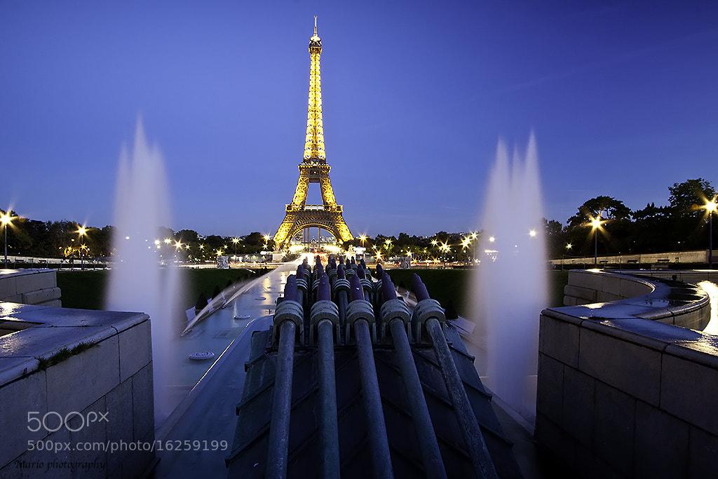 Photograph Tour Eiffel  by Mariusz Pisarkiewicz on 500px