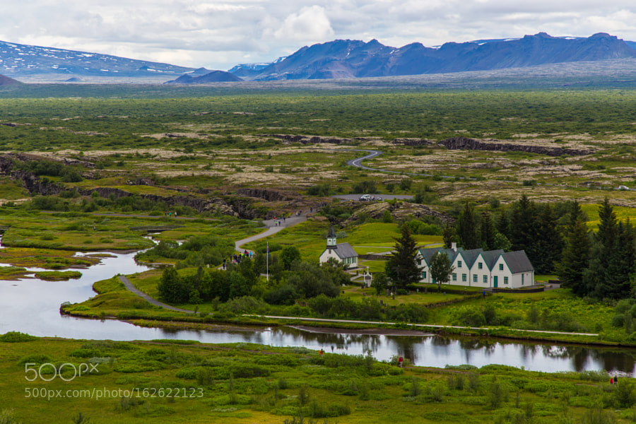 The summer residence of the Prime Minister of Iceland in Thingvellir