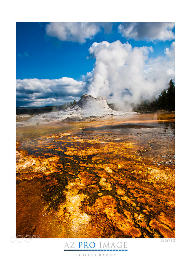 Photograph Yellowstone Geyser by Frank Hatcher on 500px