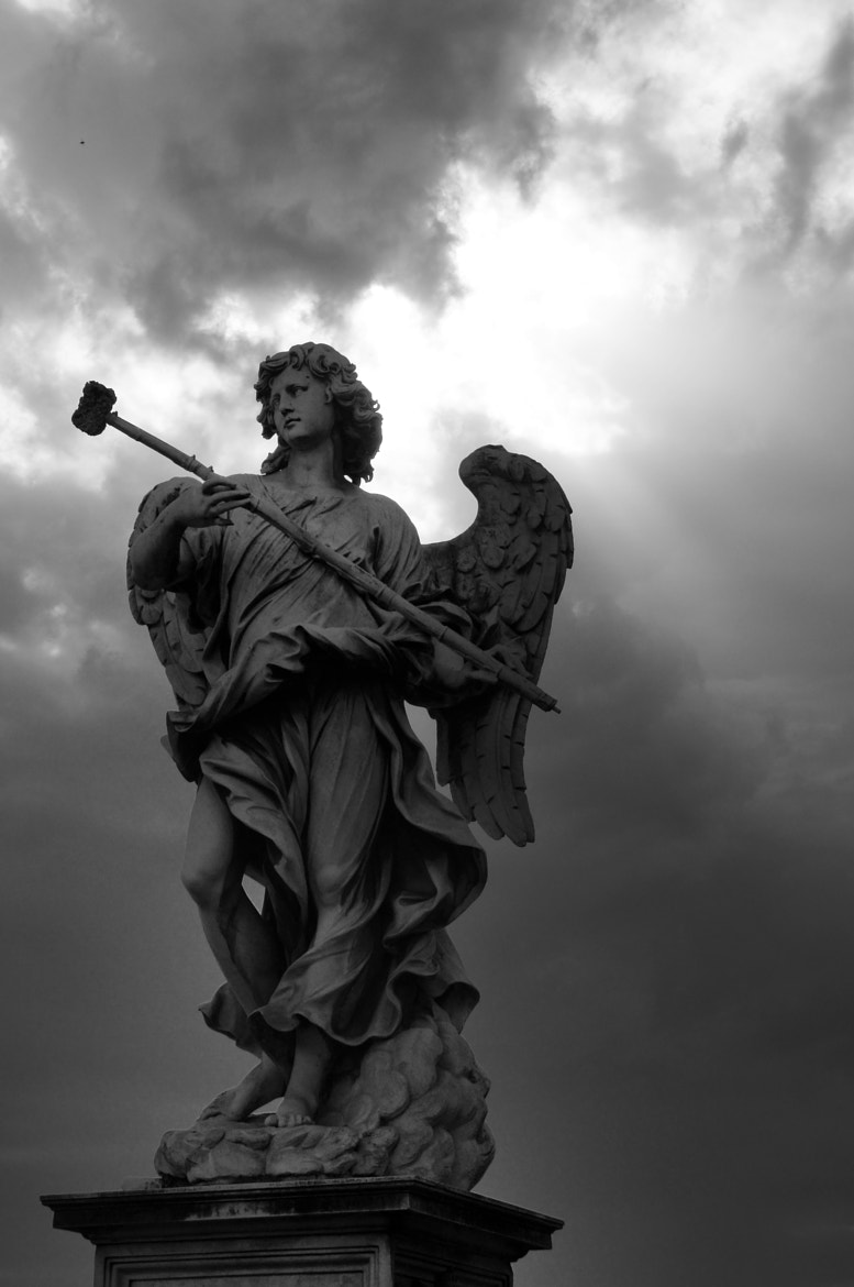 Photograph B&W Angel by Rafael Guerrero on 500px