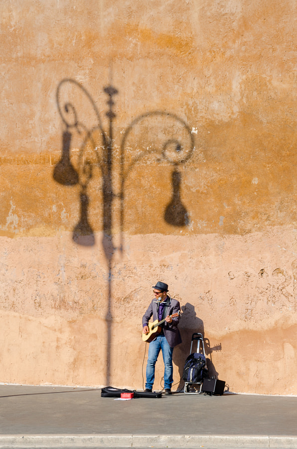 the shadow and the player by alex spasov on 500px.com