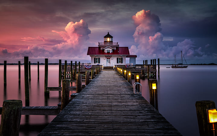 First Light over Manteo by Janet Weldon on 500px