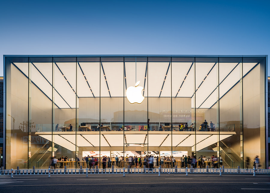 杭州西湖Apple store by 川 白 on 500px.com