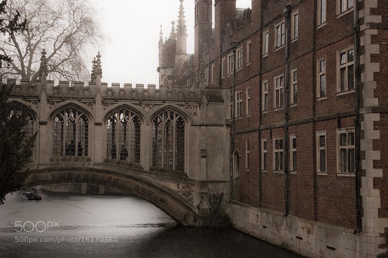 Photograph Bridge of Sighs Cambridge by Magdalena Warmuz-Dent on 500px