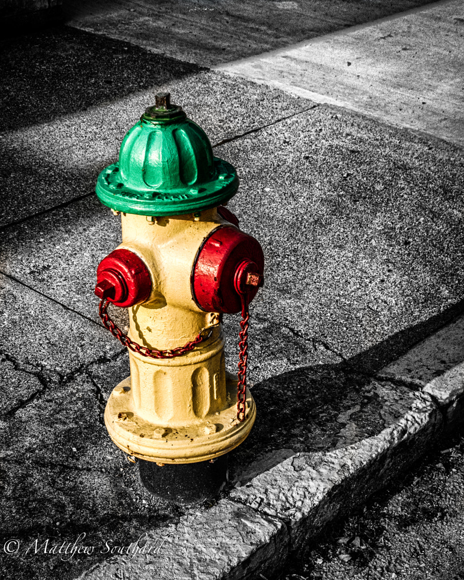 Photograph Vibrant Hydrant by Matthew Southard on 500px