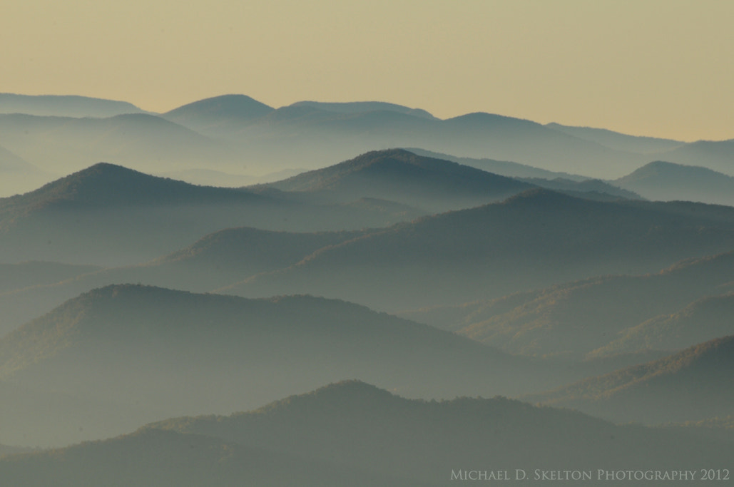 Photograph Mountain Tops of North Carolina from Clingmans Dome by Michael Skelton on 500px