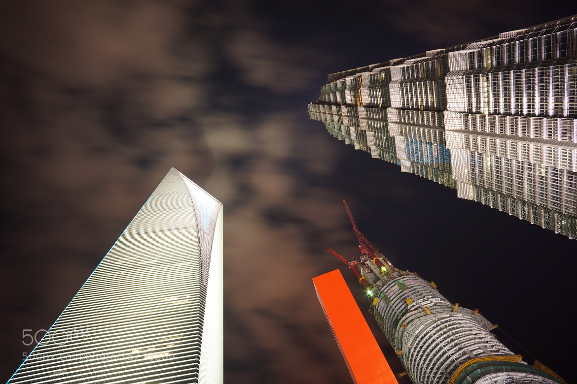Photograph Night view of Shanghai Lujiazui 04 by jelly sheng on 500px