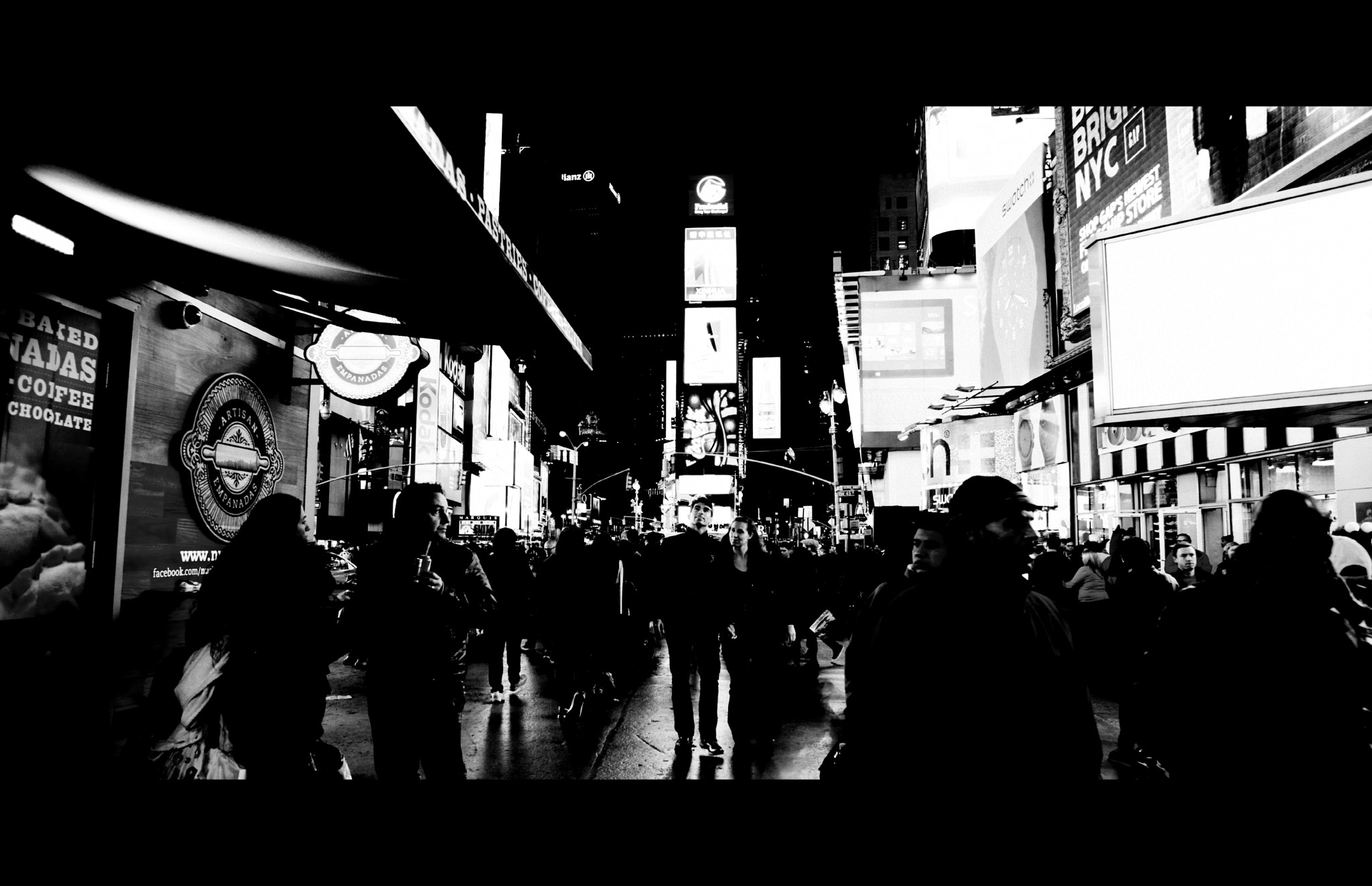 Photograph [ Lost in the Lights of Time Square ]  by Anh Gerrard  on 500px