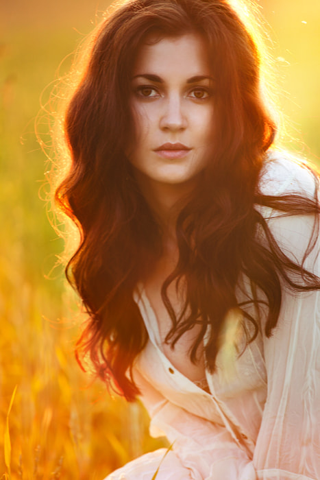 Photograph Sunset portrait by Alena Root on 500px