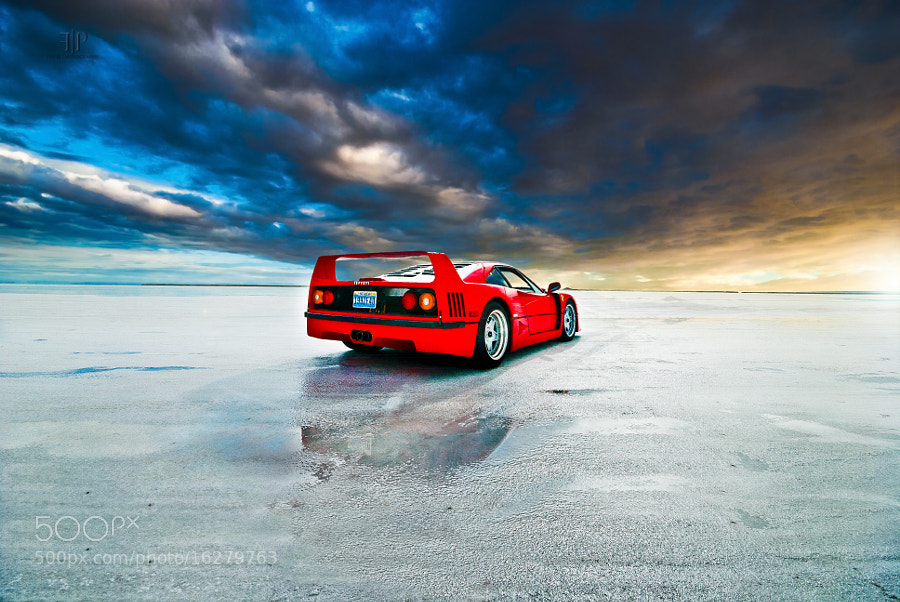 Photograph Ferrari F40 | Eye of the Storm by Gil Folk on 500px