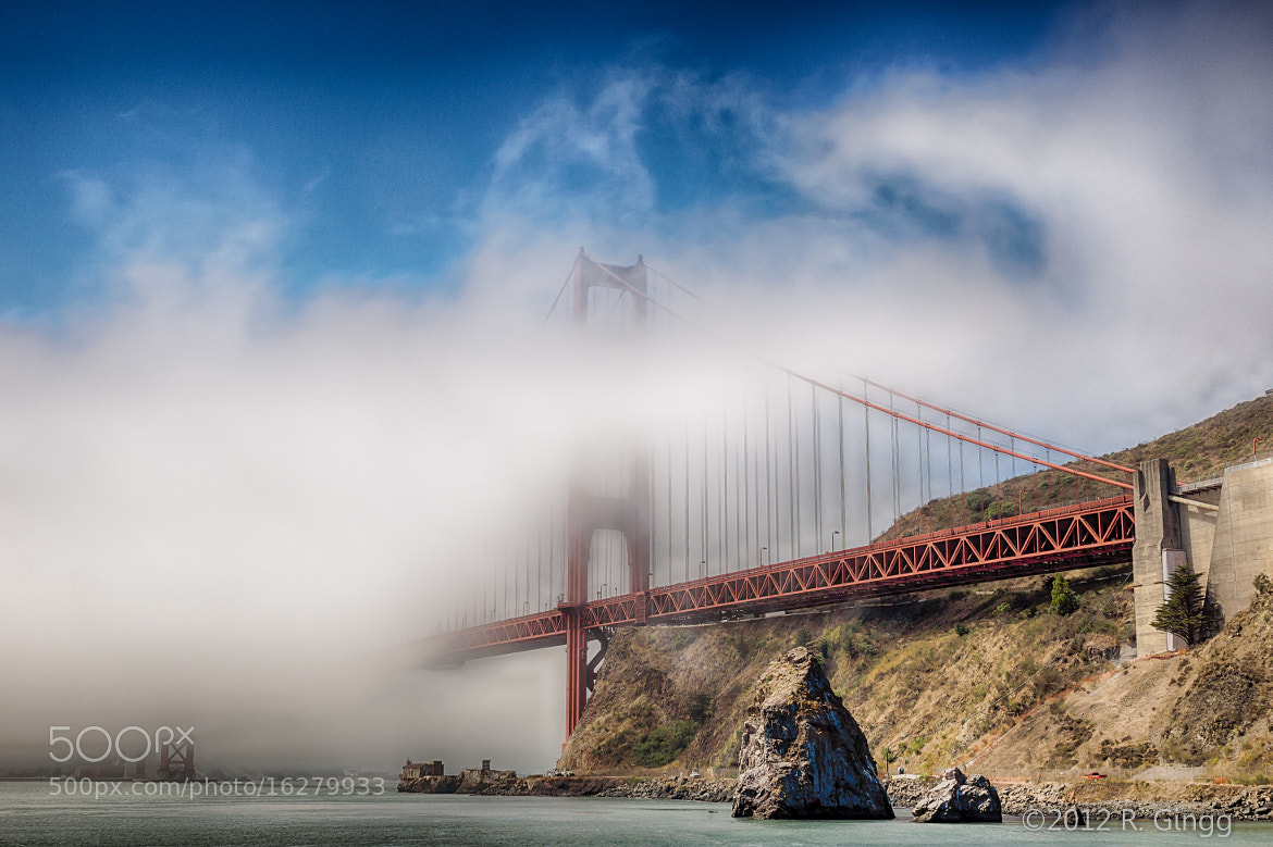 Photograph Golden Gate Fog by Bob Gingg on 500px