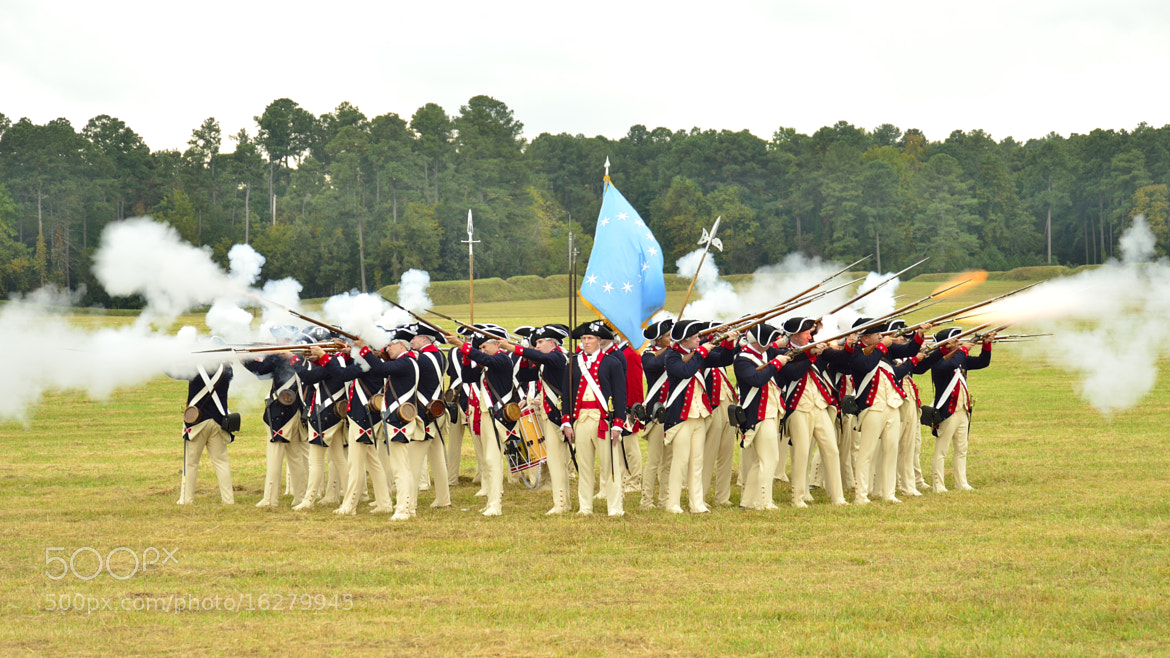 Photograph Colonial Soldier Tactics by Joseph Broyles on 500px