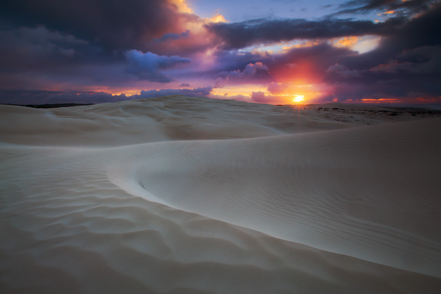 Photograph Dune Wave by Dylan Toh  & Marianne Lim on 500px