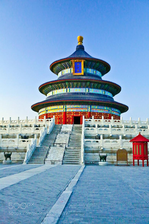Photograph Beijing Tiantan Qiniandian by Qi Zhi on 500px