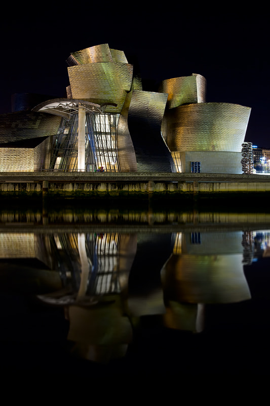 Photograph GUGGEN by Night by Carlos Resende on 500px