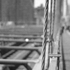 Walkin' on Brooklyn Bridge - NYC 2014