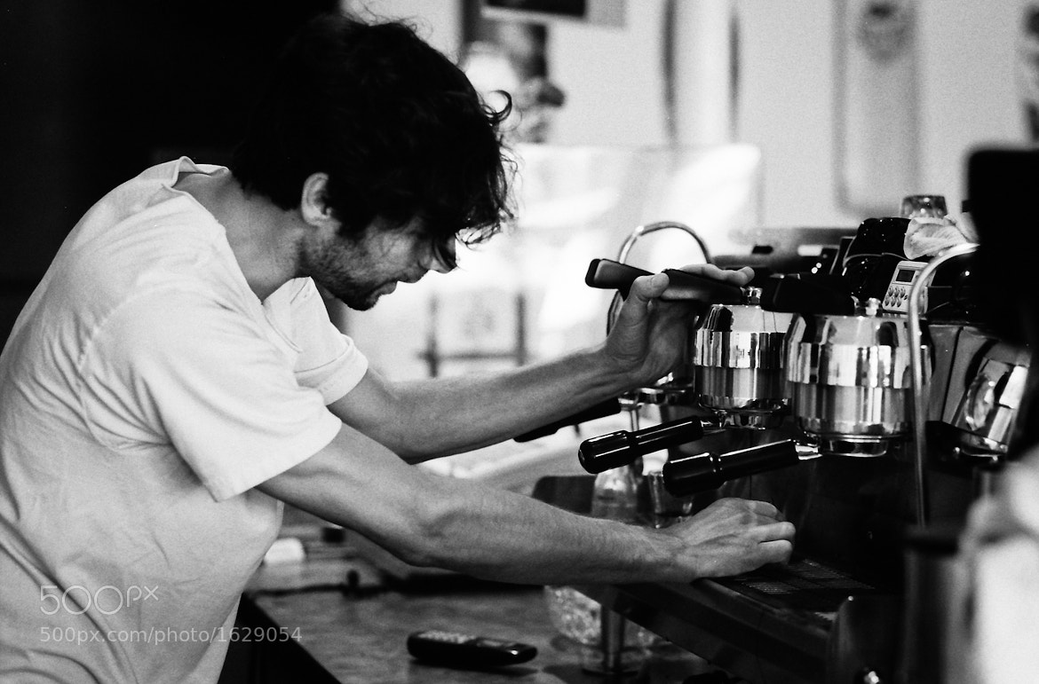 Photograph Barista at Work, Part II by Mark Prince on 500px