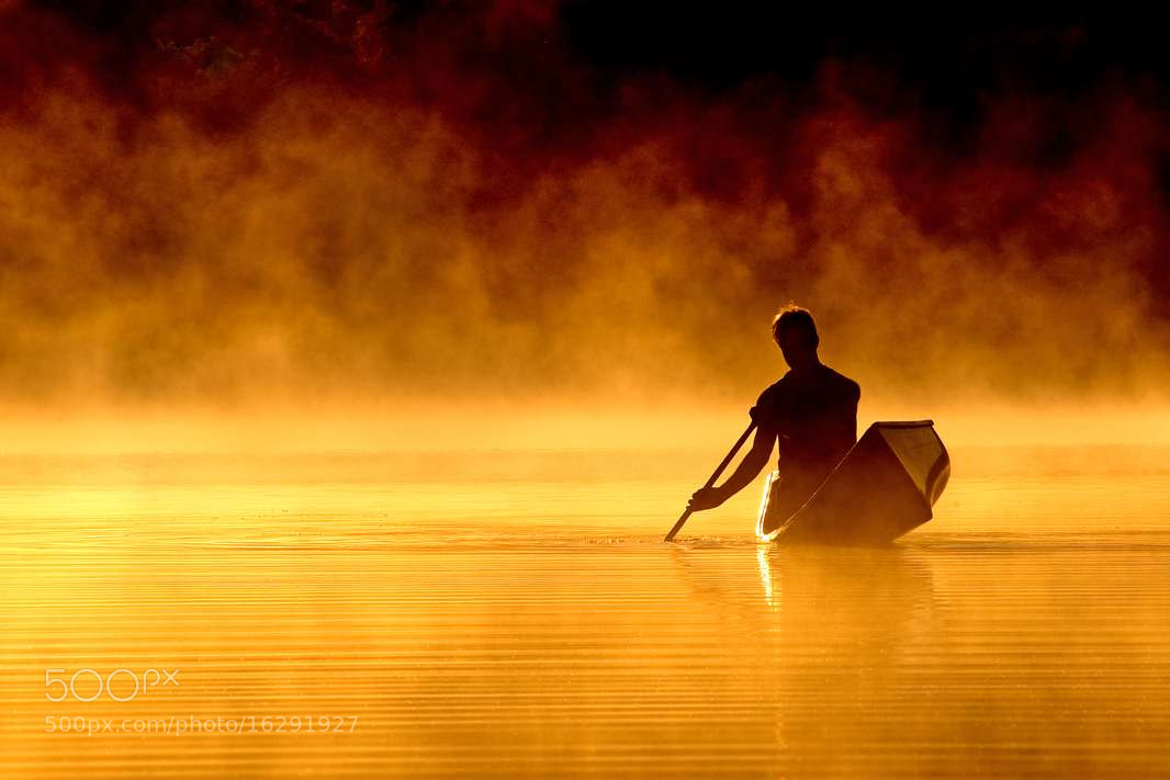 Photograph Fire Canoe by Peter Bowers on 500px