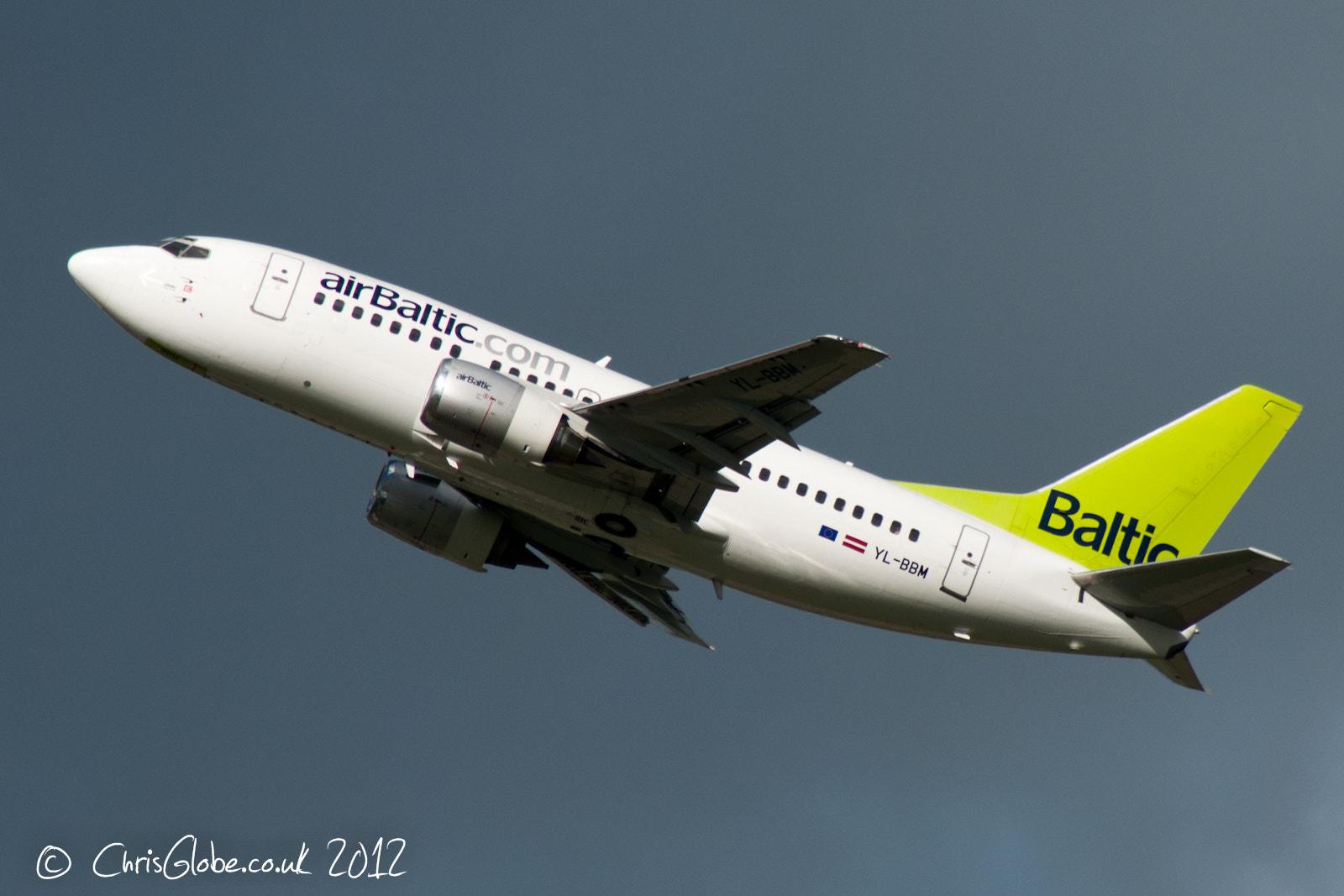 Photograph YL-BBM | Boeing 737-522 | Air Baltic by Chris Globe on 500px