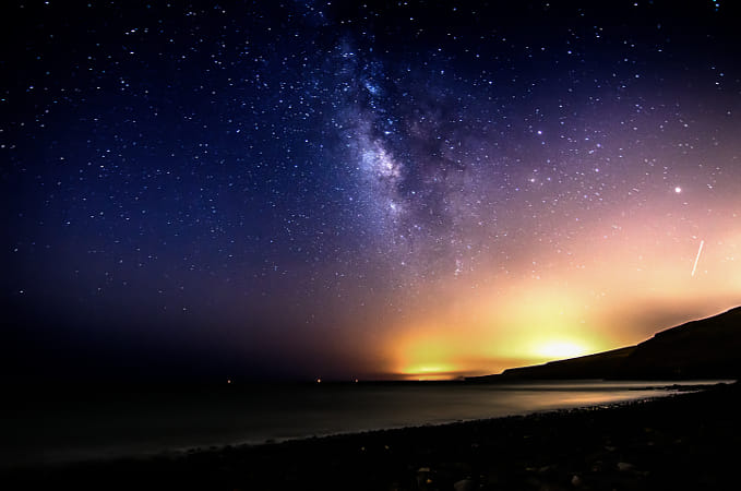 Milky Way from Lanzarote.