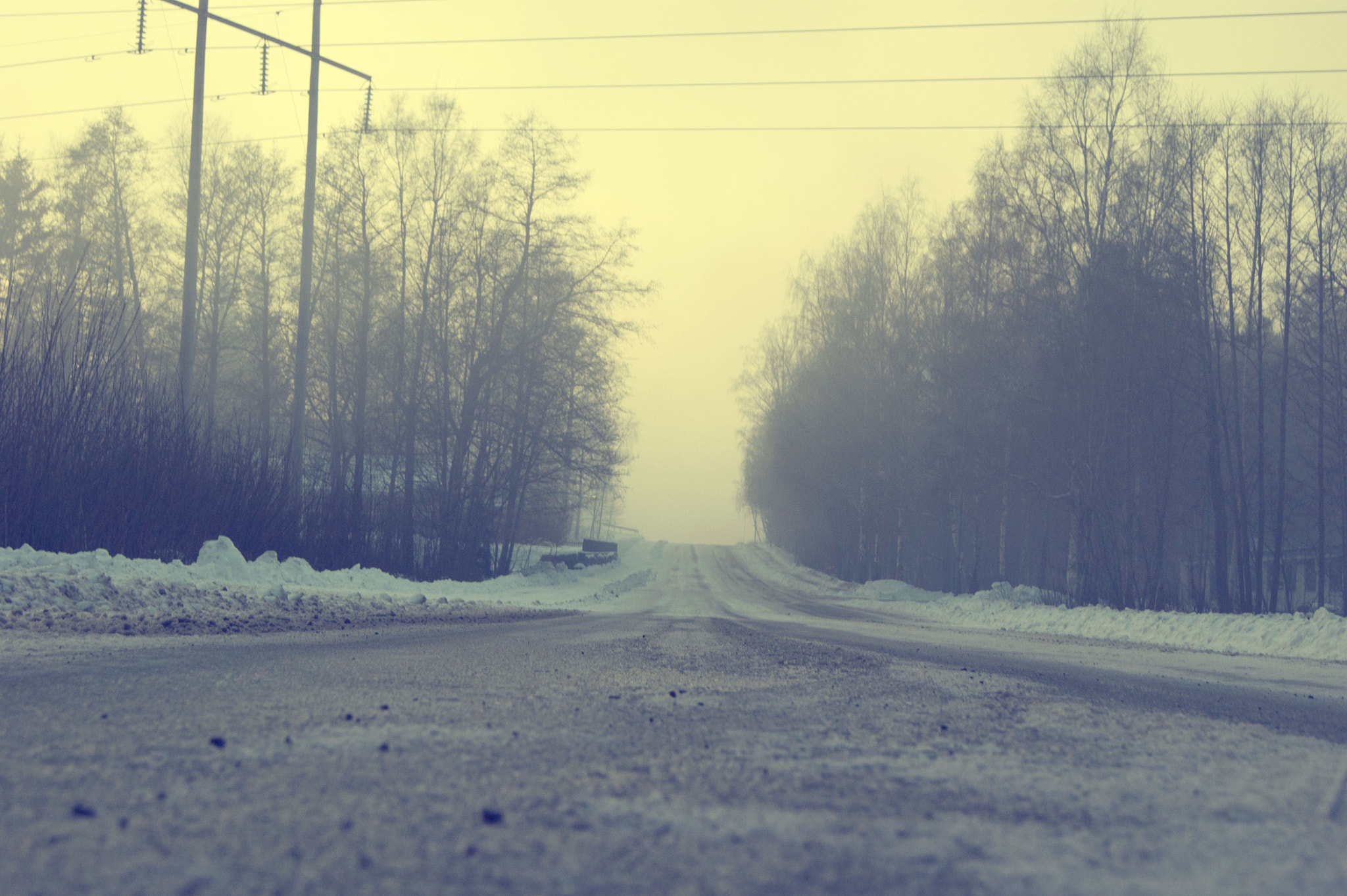 Photograph Misty Road. by Clautidia Waked on 500px