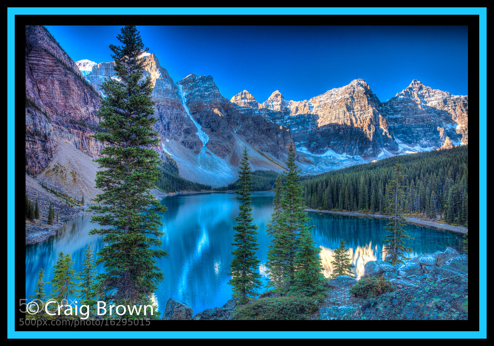 Photograph Moraine Lake by Craig Brown on 500px