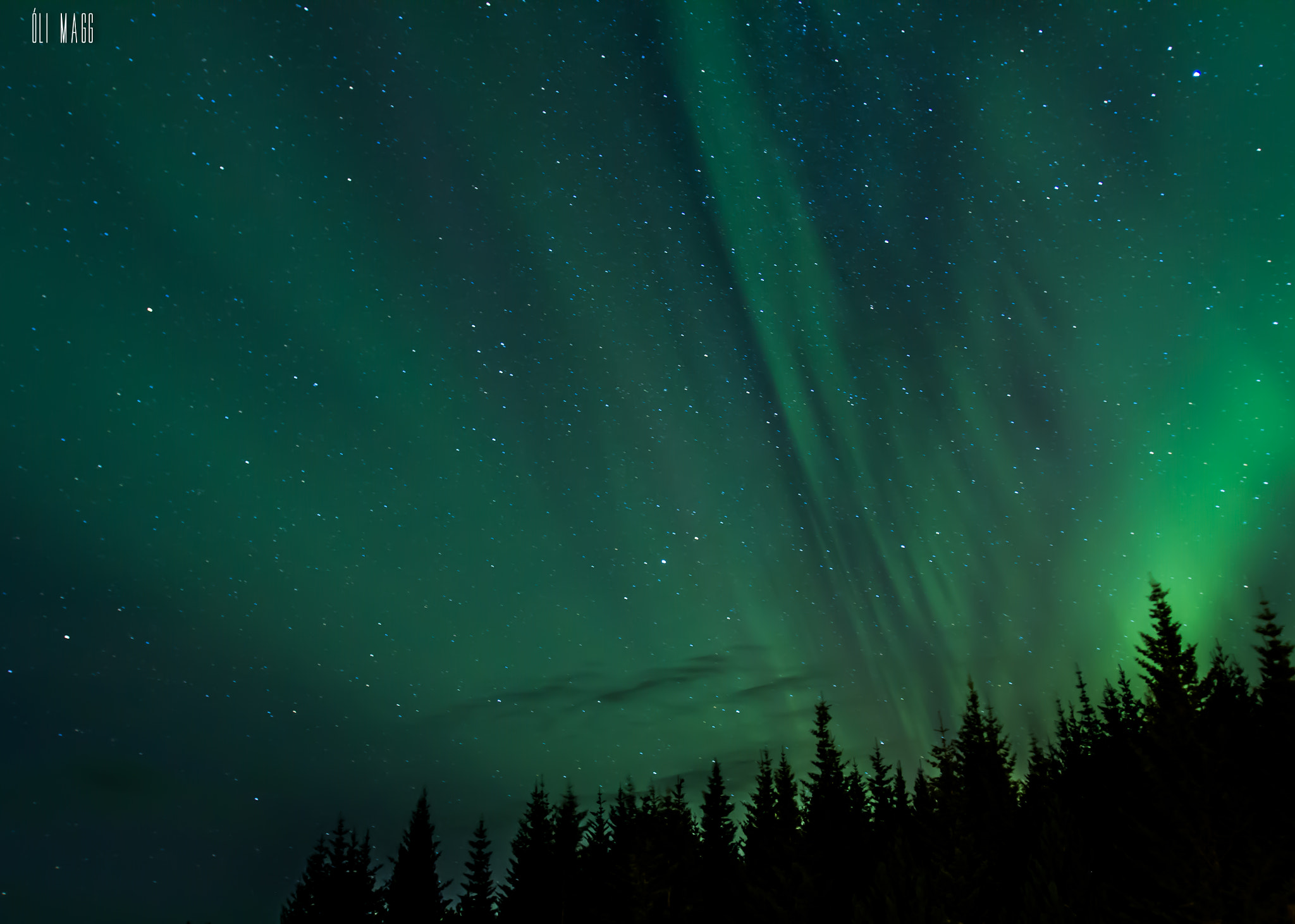 Photograph The northern lights - Iceland 2 by Óli Magg on 500px