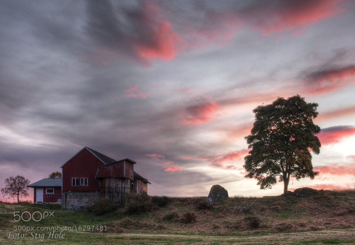 Photograph The Farm by Stig Hole on 500px