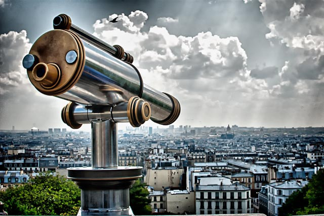 Photograph Here's Looking at Paris by Ronald Roberts on 500px