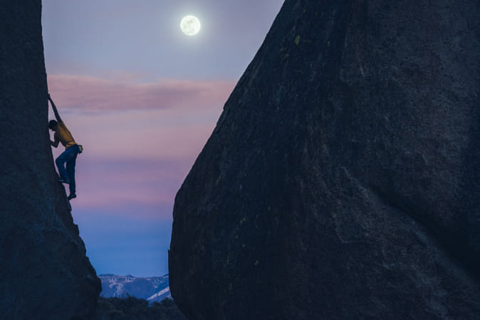 Fullmoon climbing by Red Bull Photography on 500px