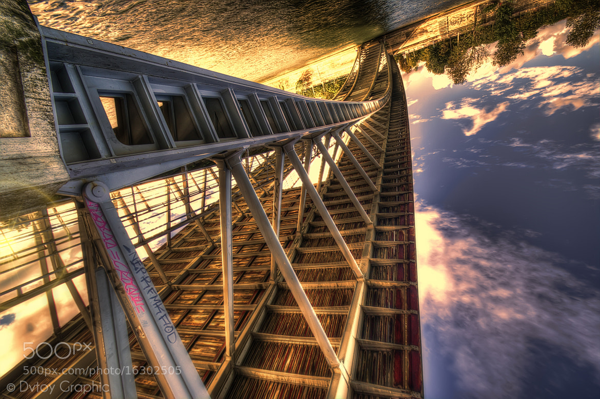 Photograph Roller Coaster bridge by Judas Lefélon on 500px