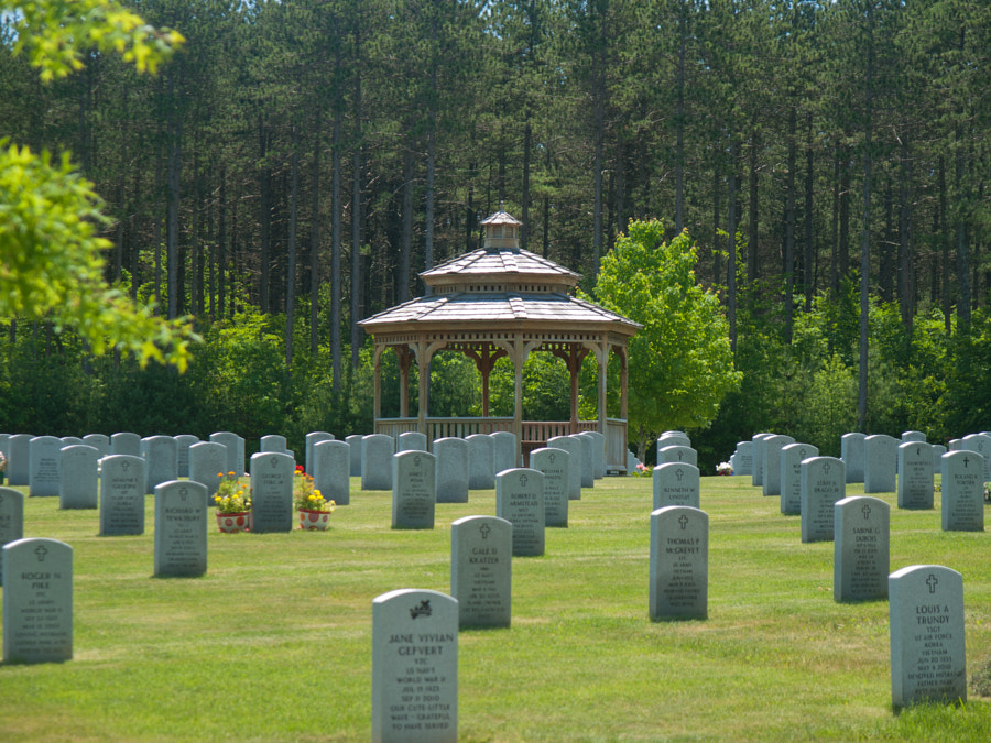 Photograph Veterans Cemetery by John Poltrack on 500px