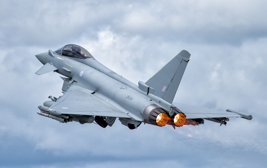 Typhoon Takeoff @ RIAT