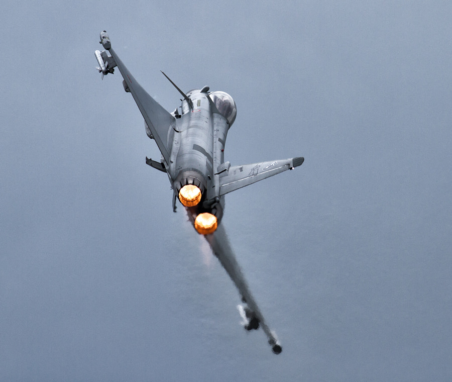 Typhoon into the gloom
